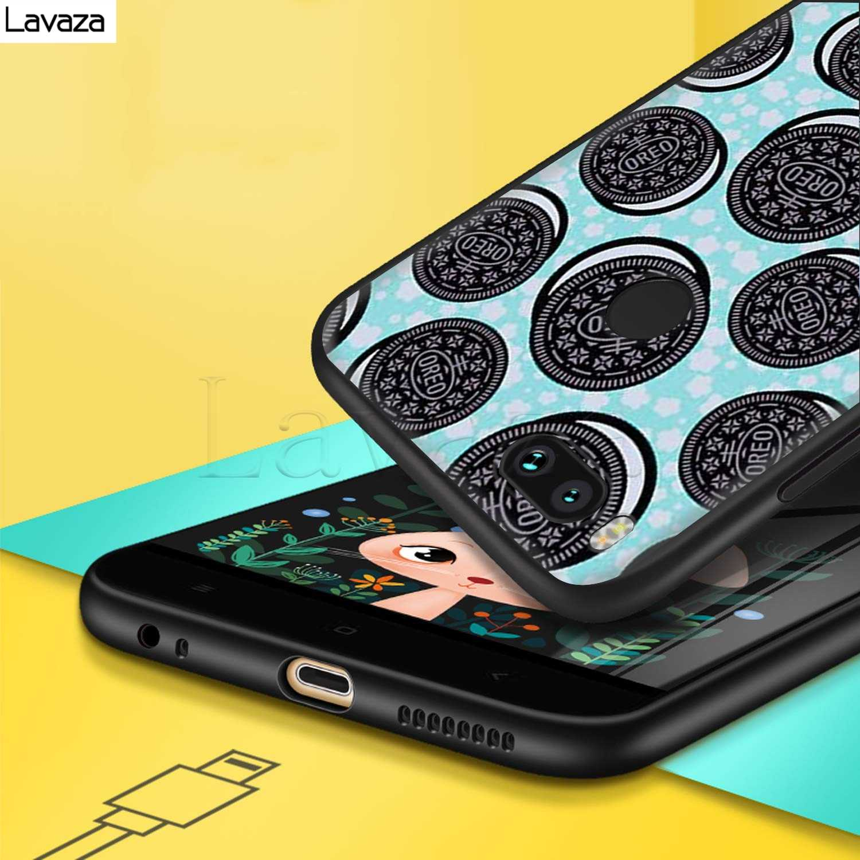 Lavaza Cibo Biscotti cioccolatini a base di carne Del Silicone di disegno per il Caso di Xiaomi Redmi Nota 4 4X 4A 5 5A 6 6a 7 pro Andare Prime Più