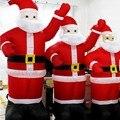 UE Ficha Decoração Chirstmas Papai Noel Inflável Insufláveis De Natal Papai Noel Inflável Decoração Do Feriado Figurinhas