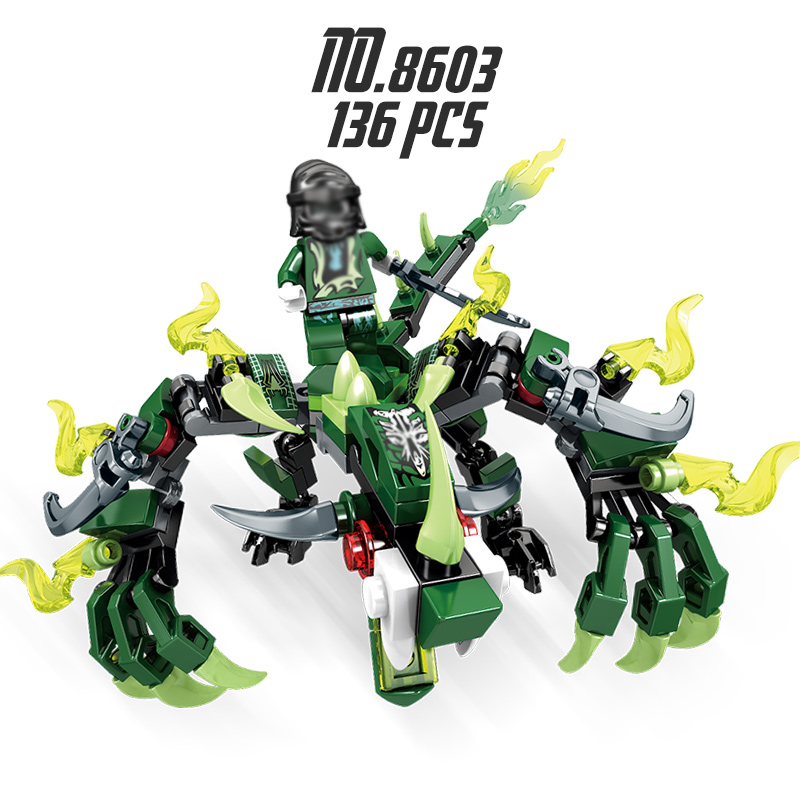 Ninjago Dragon Building Blocks 22