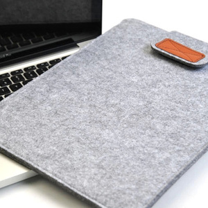 "Image 4 - Wool felt laptop bag Portable notebook sleeve case for women fashion macbook pro air computer pocket 11"" 12"" 13 14"" 15,15.6 inch"