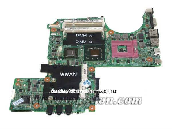 PU073 K984J P083J main board for Dell XPS M1330 laptop motherboard DDR2 with nvdia graphics 100% tested