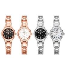 Luxury Women Stainless Steel Dial Watches Analog Quartz Bracelet Wrist Watch New