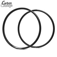 1 Pair 26er 3K Matte T700 Full Carbon Fibre Bike Wheels Clincher Bicycle Wheels 26 Inch Bike Rim 30mm Width 26 Inch Bicycle Rims