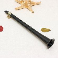 Bolso saxofone alto tenor saxofone mini bolso pouco sax saxofone bambu sax tubo de paz