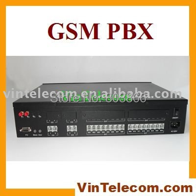 China PBX / PABX factory supply - High quality VinTelecom GSM Wireless phone system TP416(2GSM) with 2 SIMs 4 Lines x 16 Exts. свитшот blend