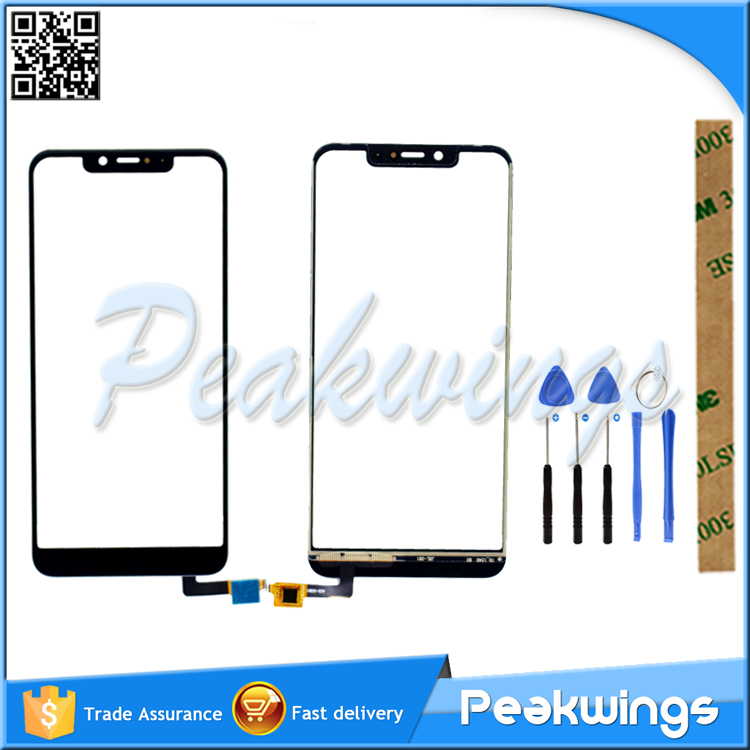 Tested Touch Screen For WIKO VIEW 2 GO VIEW2 GO Touch Screen Digitizer Panel Sensor