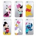 Funny Minnie Mickey Cartoon Donald Duck Daisy Soft Phone Case Fundas Coque For iPhone 7 7Plus 6 6S 6Plus 5 5S SE 5C 4 SAMSUNG