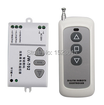 AC 220V RF Wireless Remote Control Switch System UP&DOWN Remote control/Motor reversing controller 1* Receiver + 1* Transmitter 220v 30a rf 3000w 1000m wireless remote control switch and controller system