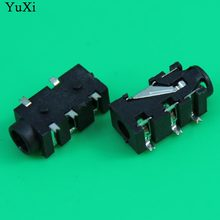 Yuxi 3.5 Mm Female Audio Konektor 5 PIN SMT SMD Headphone Jack Socket PJ-327F(China)