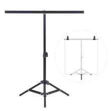 60.5 * 70cm Small Photography Studio Video Metal Support Stand System Kit Set for PVC Backdrop Background