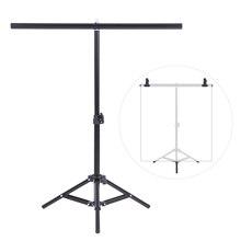 Sistema de soporte de Metal para estudio de fotografía y vídeo, pequeño, 60,5x70cm, juego para fondo de PVC