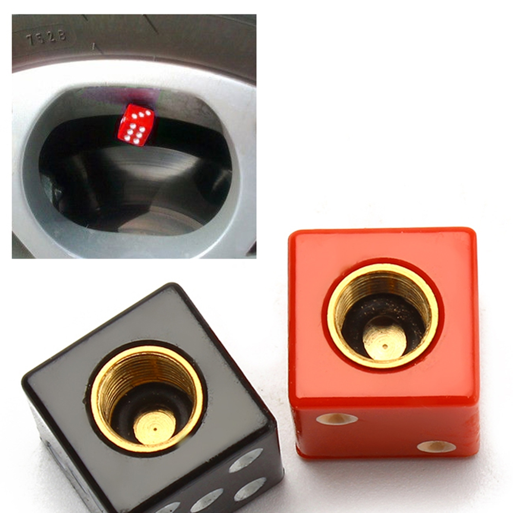 4pcs Valve Caps for Car Motorcycle Bicycle Automobile Wheel Tire Air Valve Caps for Auto Tyre Rim Stem Dust Cap Accessories