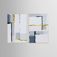Modern abstract series Painting Canvas Wall Art Picture Home Decoration Living Room Print KJQ-271
