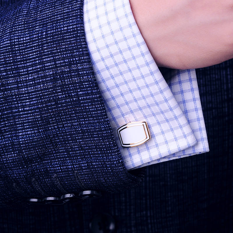 Perhiasan KFLK Perancis kemeja kancing manset untuk mens, Tombol - Perhiasan fashion - Foto 5