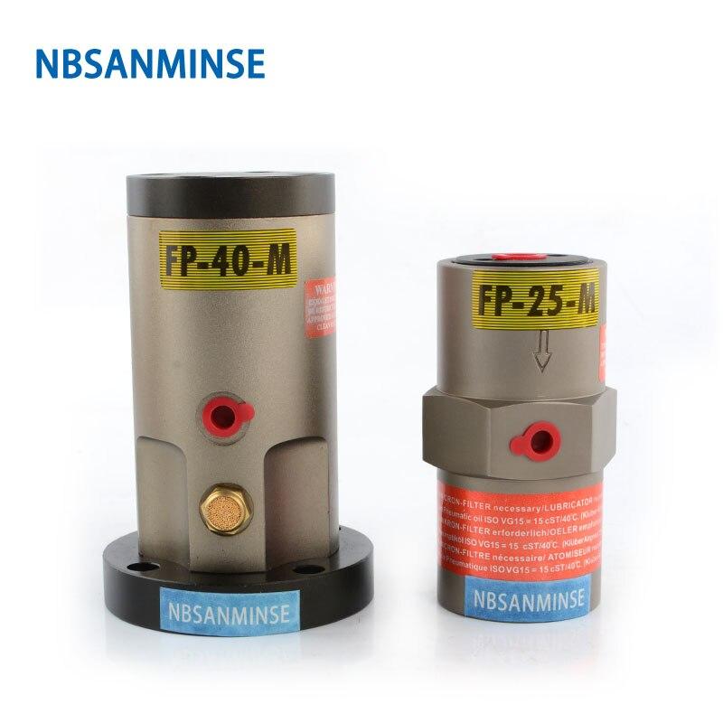Vibromasseur pneumatique NBSANMINSE pf-m 1/8 1/4 conception de Piston vibromasseur pneumatique réglable d'amplitude