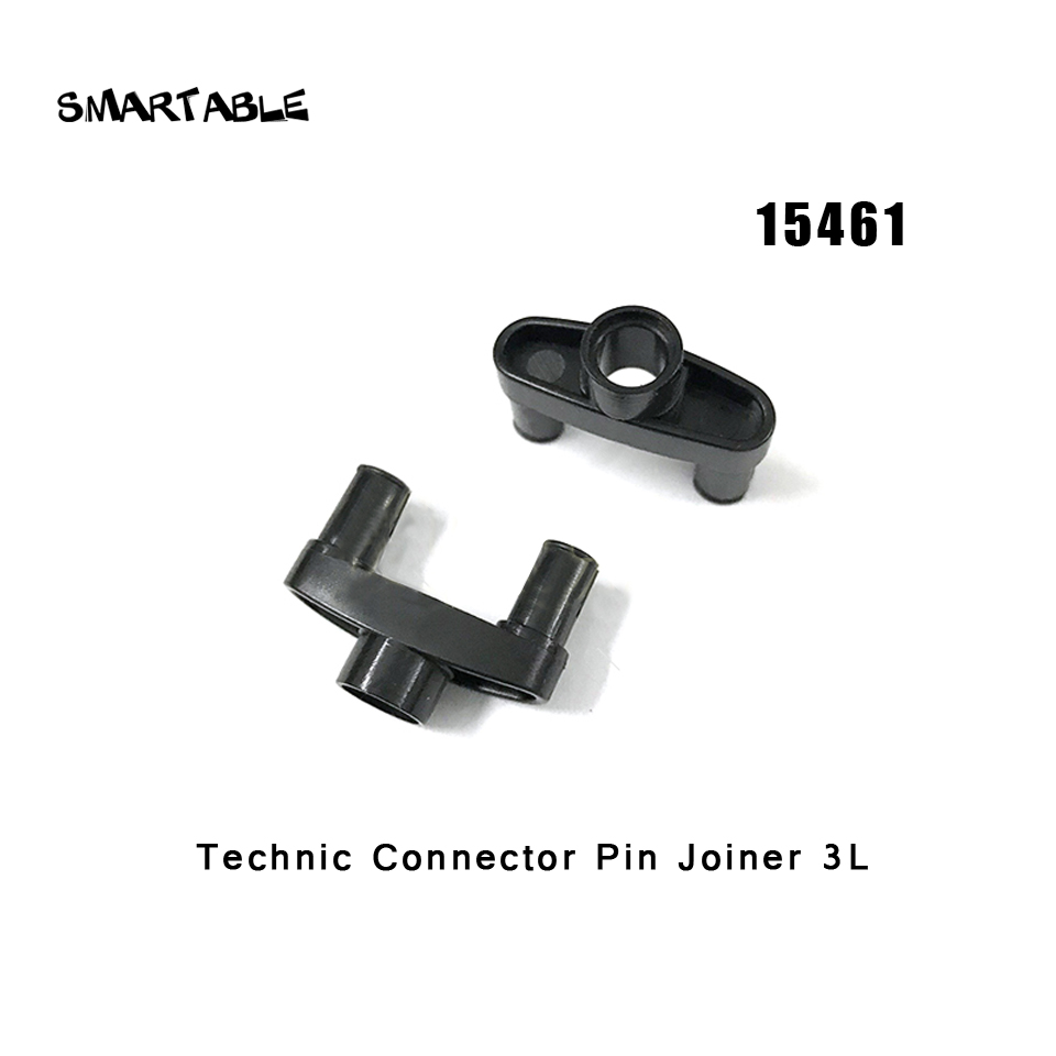 Model Building Smartable Technic Connector Pin Joiner 3l Building Block Parts Toys For Children Compatible Legoing Technic 15461 40pcs/set To Have A Unique National Style