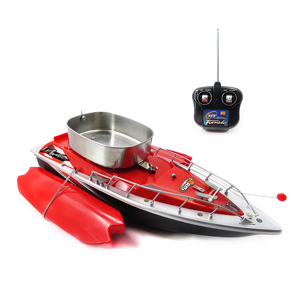 Flytec Intelligent Wireless Electric RC Boat Speedboat RC Fishing Bait Boat Fish Finder Boat Ships Remote