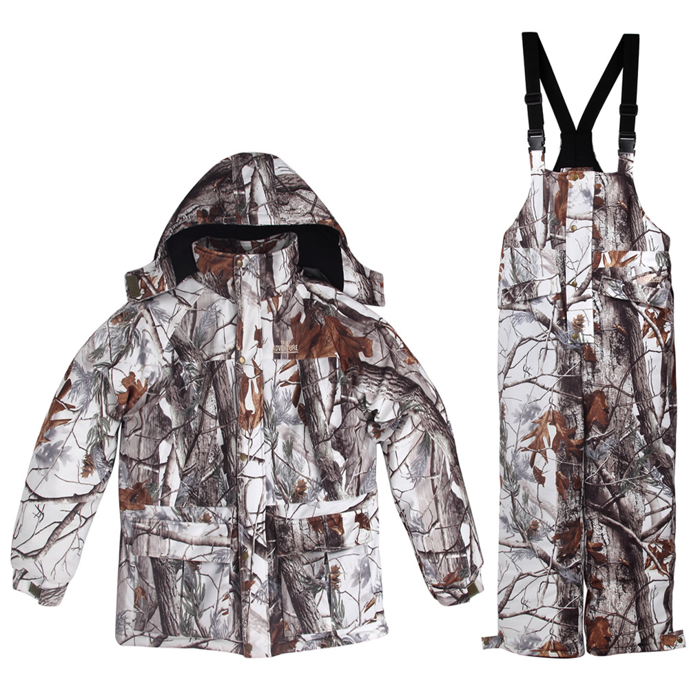 New Winter Waterproof 3D Snow Camouflage Hunting Suits Ski ...