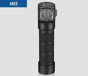 Image 3 - NEUE Skilhunt H03 H03F H03R Led Scheinwerfer Lampe Frontale Cree XML1200Lm Scheinwerfer Jagd Angeln Camping Scheinwerfer + Stirnband