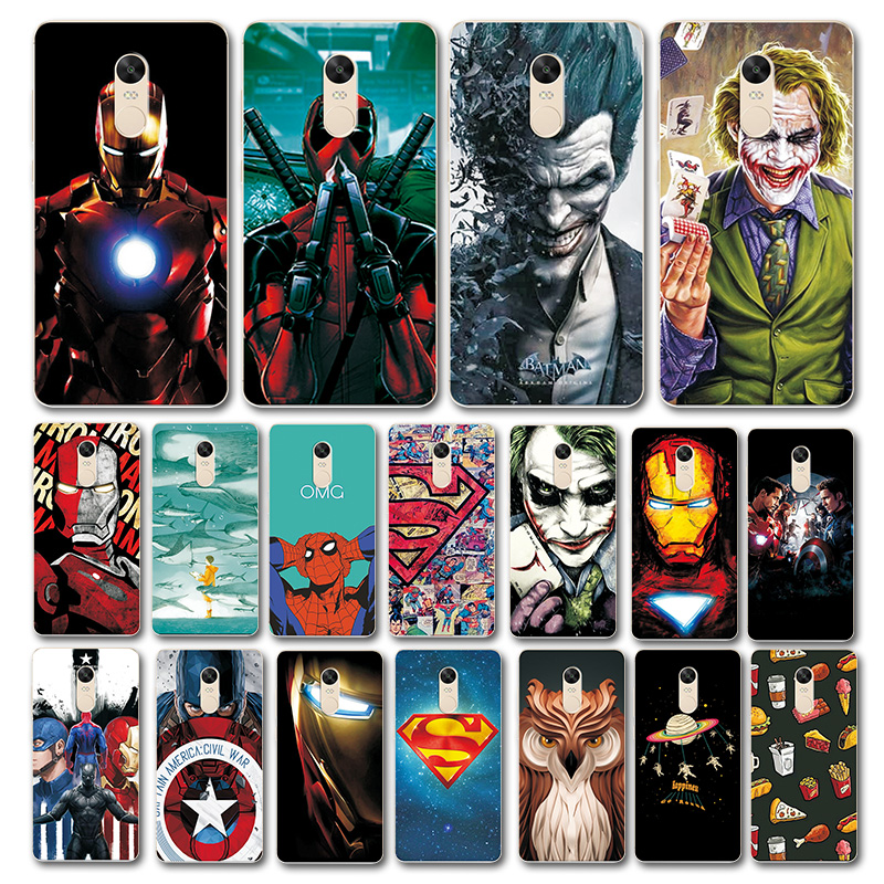 Art-Printed-Case Back-Cover Novelty Xiaomi Redmi Note-4 4X for Newest 4-4x