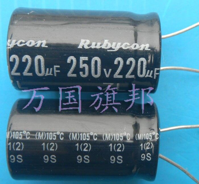 משלוח משלוח. מוכר קראון אלקטרוליטי קבלים 250 v 250 uf 220 uf