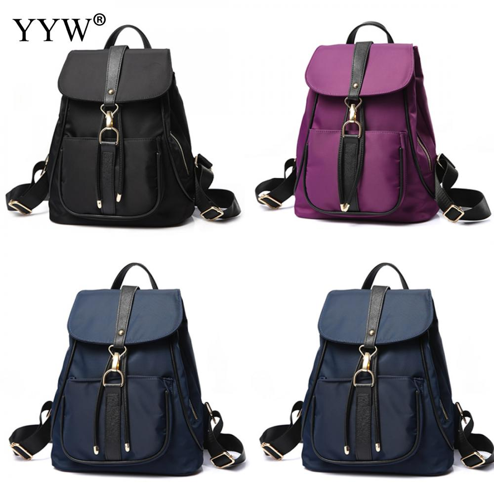 YYW New Design Women Travel College Students Bookbags Oxford Backpacks-School Designer Mochila Female Travel Backbags Hot Sales