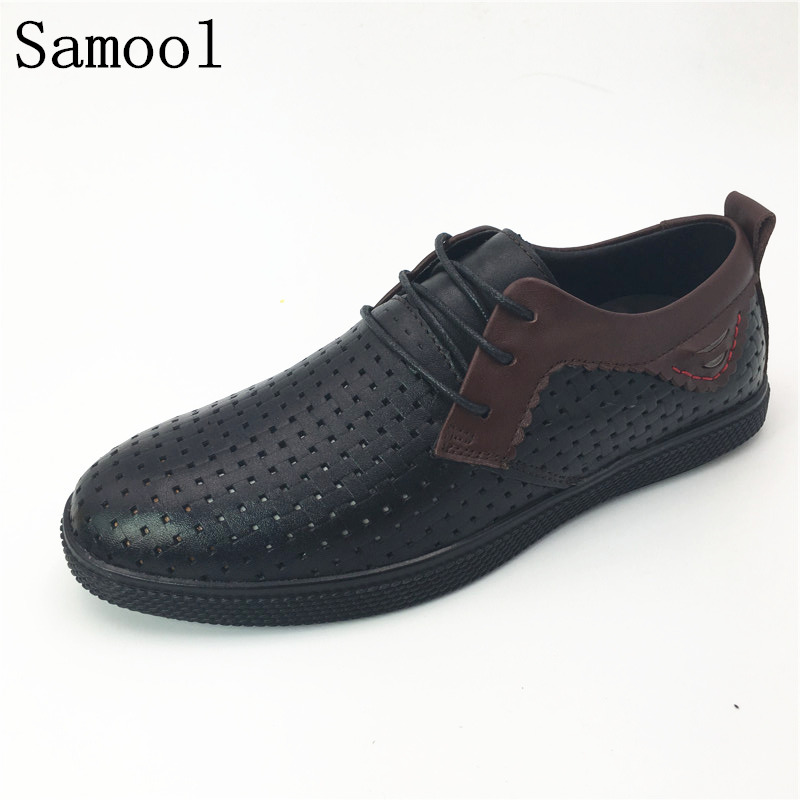 Designer Breathable Leather Shoes 2018 Men Casual Handmade Moccasins Shoes Lace Up Comfort Shoes Men Flats zapatos hombre 38-46K klywoo new white fasion shoes men casual shoes spring men driving shoes leather breathable comfortable lace up zapatos hombre