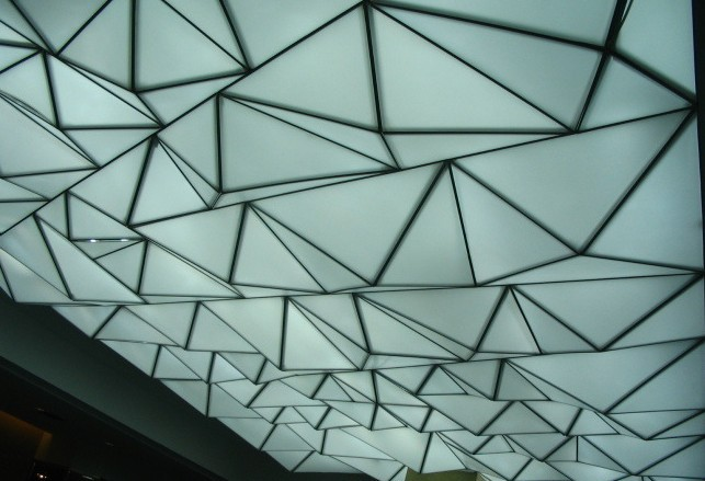 Translucent stretch ceiling film PVC ceiling film ceiling decoration lowest price pvc stretch ceiling film