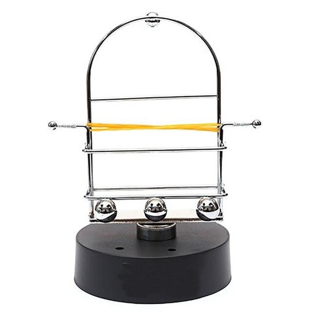 Automatic Walking Swing Mobile Phone Artifact Pedometer Brush Stepper Eternal Instrument Newton Rocker Craft Ornaments