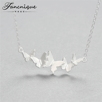 Original Handmade 925 Sterling Silver Jewelry Butterfly Pendant Necklace Free Shipping