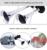 Accesorios de Vehículos de 12 V Del Coche del Barco del Carro funcional Dual Trompeta Tren Fuerte Sonido Bocina de Aire Compresor Cromado Plata