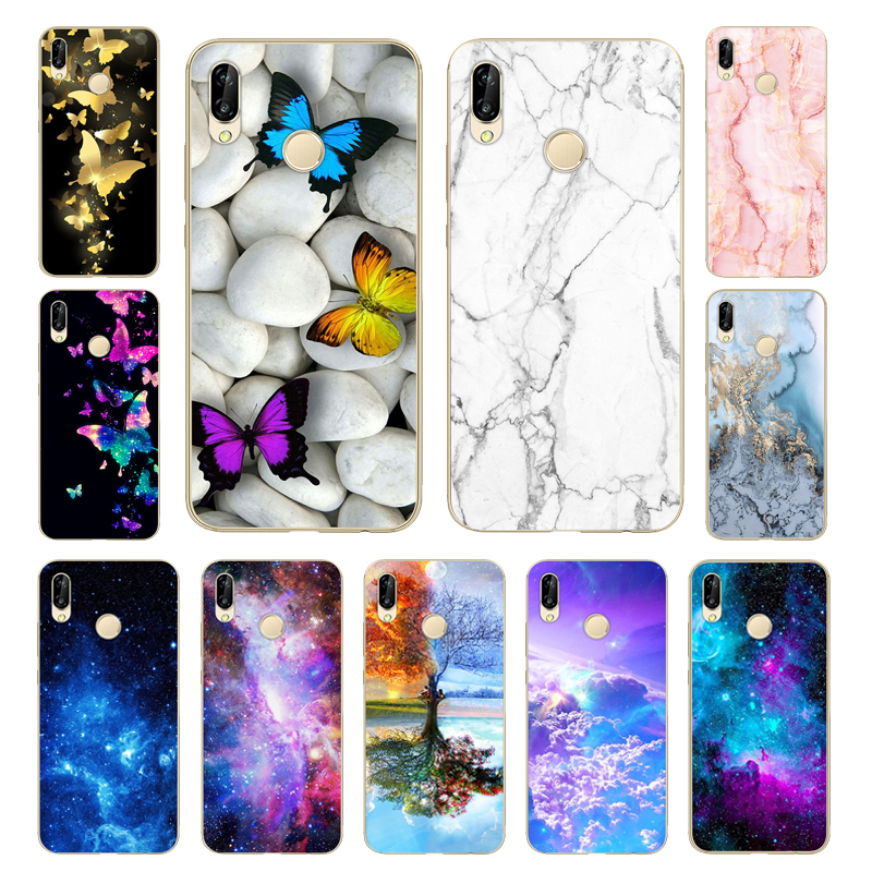 Soft TPU For Huawei P20 Lite Case Silicon Back Cover For Huawei P20 Lite Phone Case Bumper For Huawei P20 Lite Nova 3e Case
