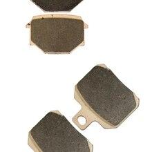 Комплект тормозных колодок fit RIEJU Street 125 Marathon Pro Supermotard литой диск Rad. cal. 2009 2010 2011 2012 2013 спереди и сзади