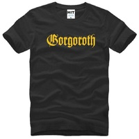 GORGOROTH T Shirts Men Cotton Short Sleeve Gorgoroth Twilight Of The Idols Men S T Shirt