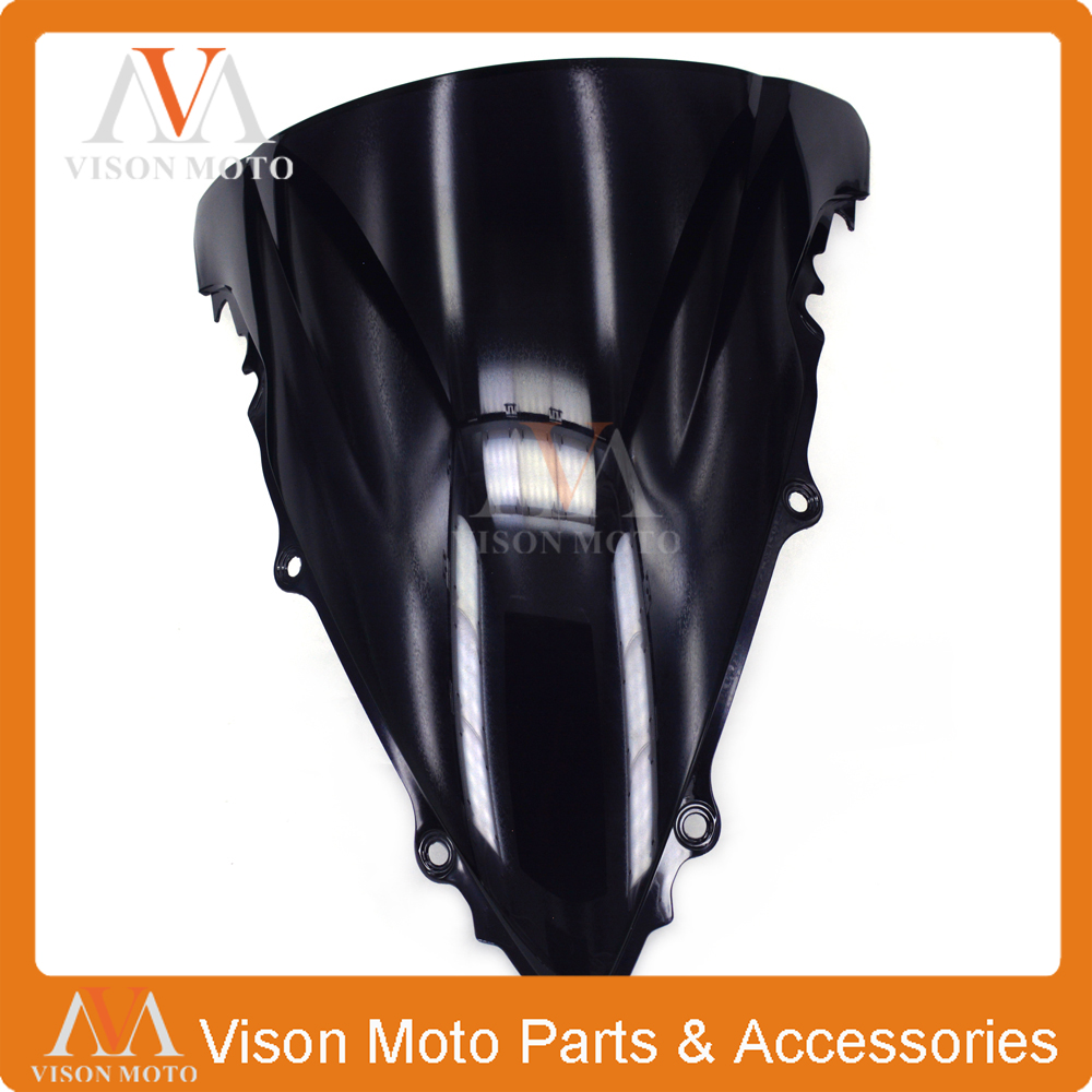 Motorcycle winshield Windscreen For YAMAHA YZFR6 YZF R6 YZF-R6 2003 2004 2005 03 04 05 6 colors cnc adjustable motorcycle brake clutch levers for yamaha yzf r6 yzfr6 1999 2004 2005 2016 2017 logo yzf r6 lever