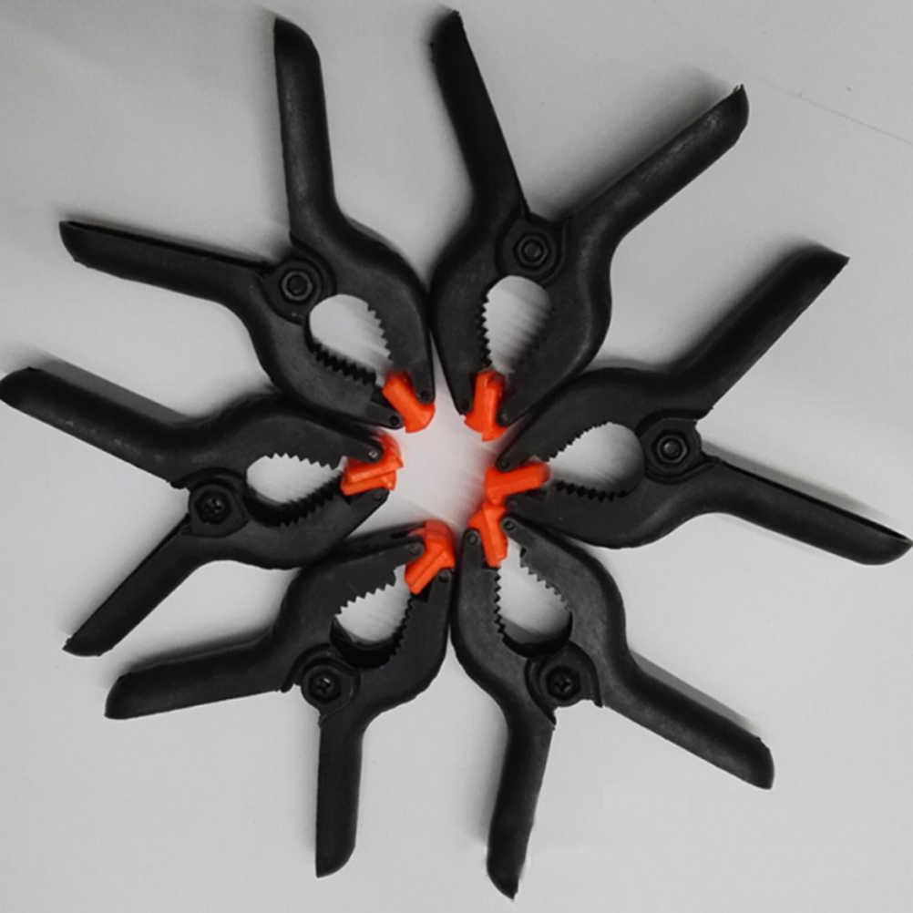 Abrazaderas de resorte de 2 pulgadas, herramientas de carpintería DIY, abrazaderas de nailon de plástico para pinza de muelle para carpintería fondo de estudio de fotografía 1/5/10 Uds
