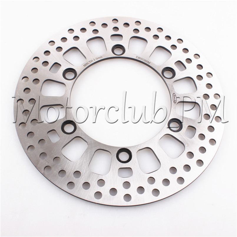 6 Holes Front Brake Disc Rotor For Honda VT 125 C SHADOW 99-08 00 01 02 03 04 05 06 CBF 125 09-12 10 11 Motorcycle Bicycle Pads рычаги тросики и кабели для мотоцикла rctoper honda vtr1000f firestorm 98 99 00 01 02 03 04 05