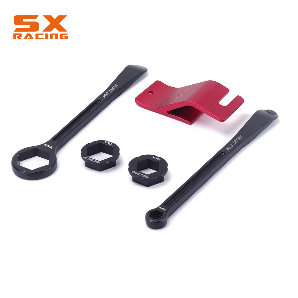 Tyre Iron Set Changing Tool Kit Raceline Tire Lever Hex Wrench Spanner Head Bead Holder 10MM 13 22 27 32MM For Japanese bike