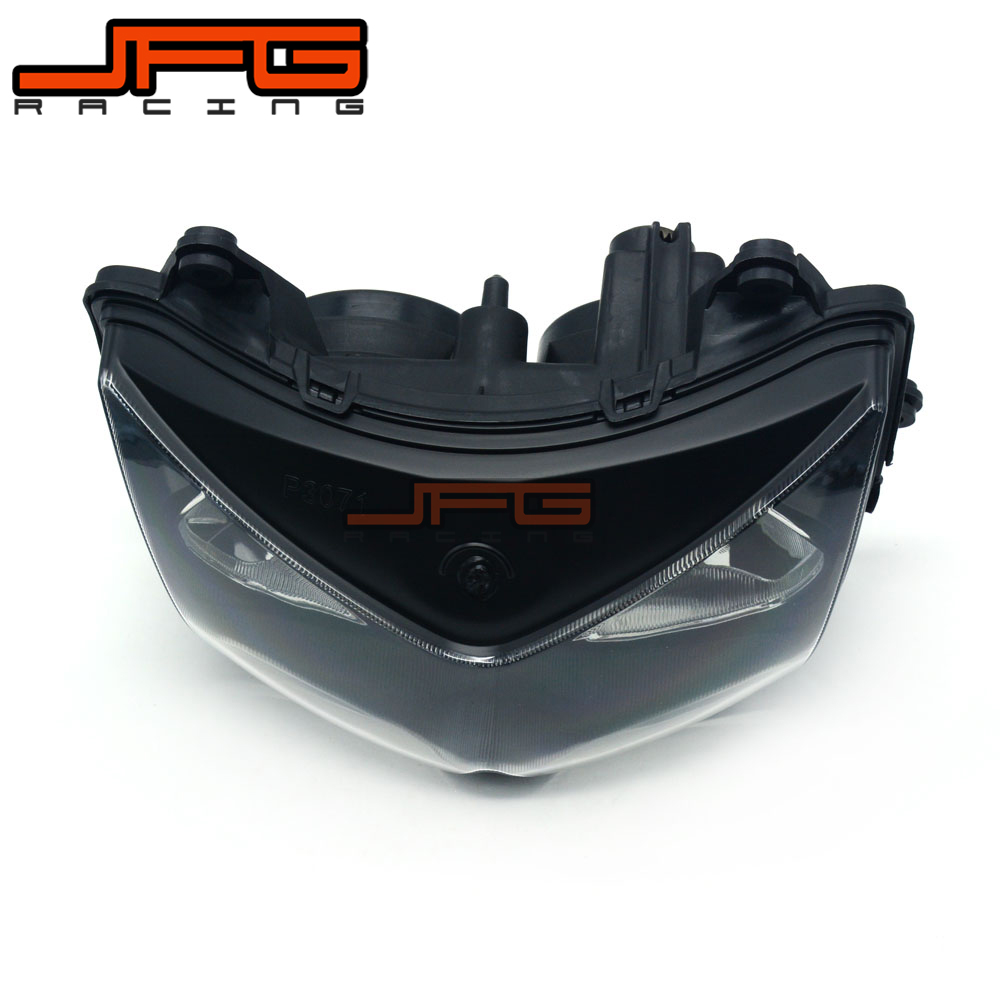 Motorcycle Clear Front Headlight Head Light Headlamp Assembly For Kawasaki Ninja 250R Ninja250R 2008-2012 Z1000 03-06 Z750 04-06