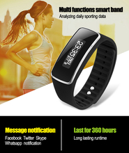 V5S Bluetooth4.0 фитнес-Браслет Группа Смарт Браслет OLED Экран вызова напоминание анти-потерянный фитнес-трекер Шагомер PK A09 F1