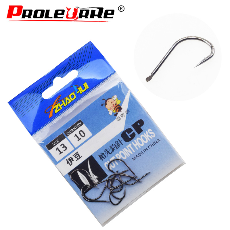 100Pcs//lot Fishing HookCarbon Steel Bait Barbed Fishing Hooks Stainless Stee  xj