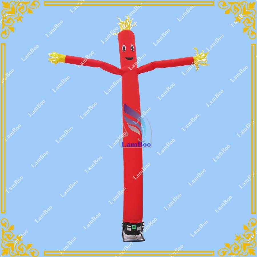 Hot 20FT/6 m Hauteur Rouge Gonflable Air Dancer Sky dancer pour vos Événements, bureau Gonflable Tube Homme/LIVRAISON Gratuite