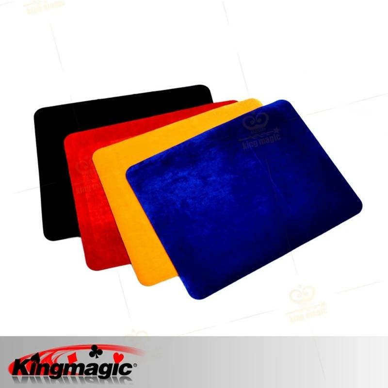 tapis de carte professionnel de haute qualite noir rouge bleu jaune taille standard 42x32cm pour poker et pieces de monnaie accessoires