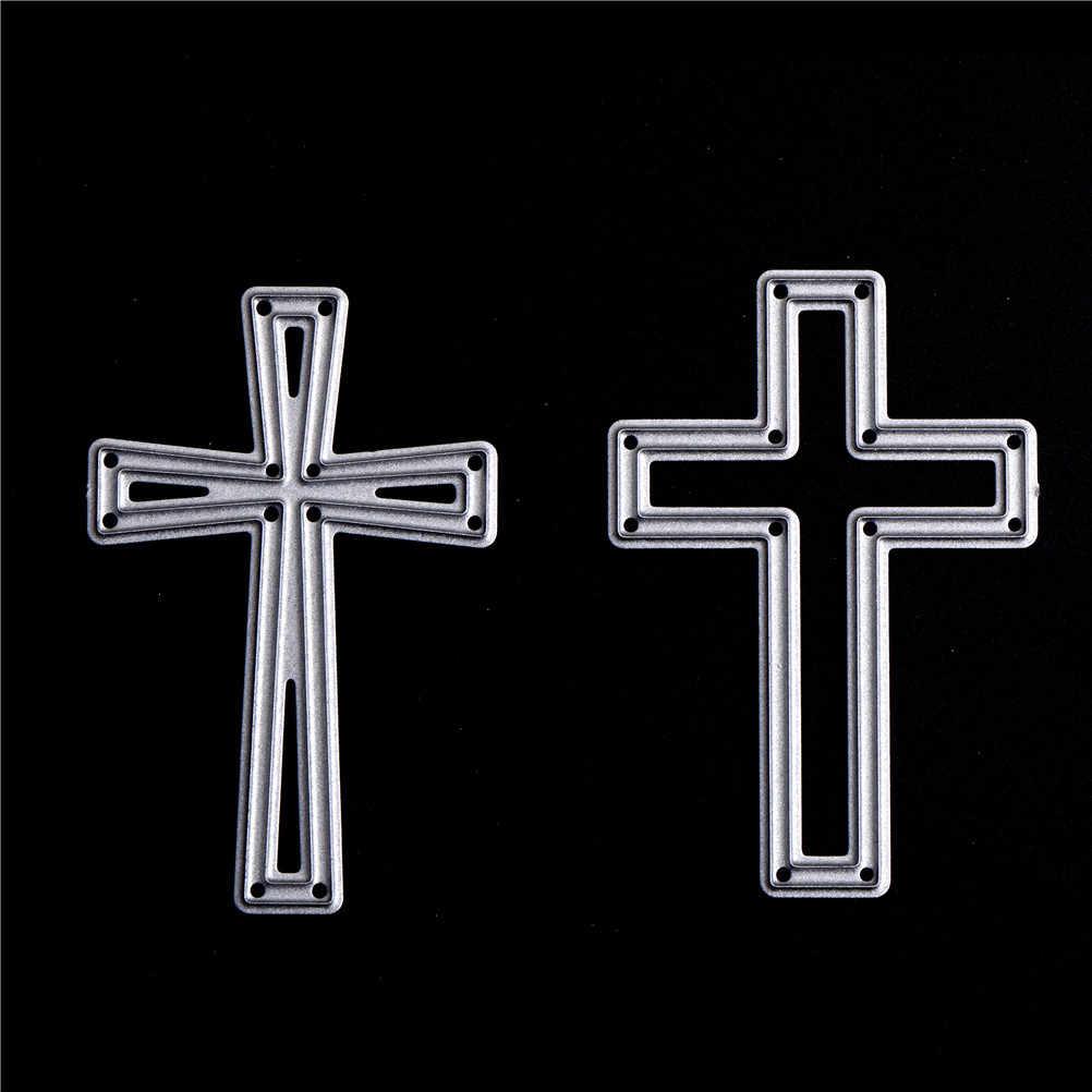 crosses Mixed Frame Metal Cutting Dies Stencils for DIY Scrapbooking/photo album Decorative Embossing DIY Paper Cards