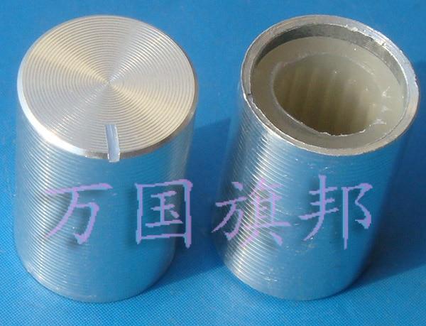 Free Delivery. Potentiometer knob The silver strip aluminum knob 15 mm diameter 10 mm high