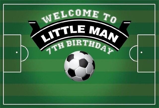 Laeacco игровая площадка футбол дети день рождения фотографии пейзажные картины фотографические фоны для фотостудии