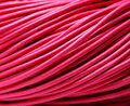 shipping Jewelry DIY 5Meters 2mm deep pink cowhide round leather cord Necklace Bracelet Cord