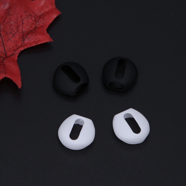 2 Pairs Ultra-thin Silicone Eartips For Apple Airpods 2