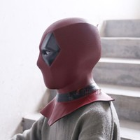 2017 Athemis Deadpool Mask cosplay High quality and same as original Game