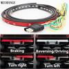 MZORANGE 60 Flexible LED Light Strip Tailgate Bar Backup Reverse Brake Tail Turn Signal Light 5